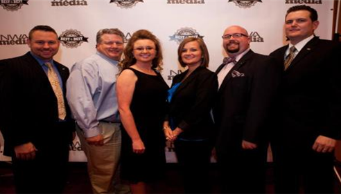Jeffrey Danley - <pre>Myself and local Farmers agents at the Best of the Best NW Arkansas banquet.</pre>