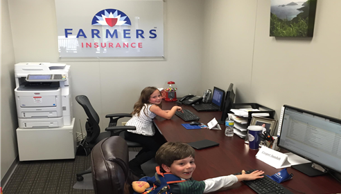 Jacob Eaton - <pre>Big success on bring your kid to work day!</pre>
