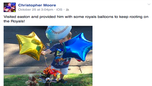 Jacob Eaton - <pre>Pic 1 of facebook post. Easton Strong! www.caringbridge.org/visit/eastonmoore</pre>