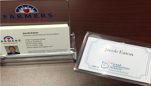 Jacob Eaton - <pre>Lunch with Good Sam, proud to be a part of the Good Samaritans Society in Olathe</pre>