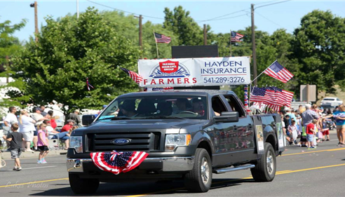 Joanna Hayden - <pre>Stanfield Fourth of July Parade 2013</pre>