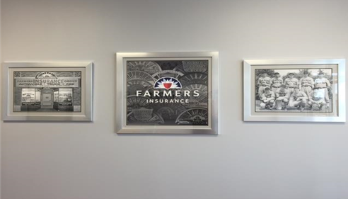 Jay Krcmar - <pre>Wall Art in office</pre>