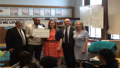 Jemell Morgan - <pre>Congrats Karina Wietholter, Thank A Million Teacher Winner.....Chicago, IL</pre>