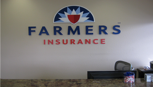 J Robert Mylroie - <pre>New Interior Farmers® Sign</pre>