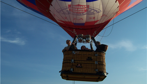 John Ogden - <pre>Taking a ride in the baloon. What a great day!</pre>