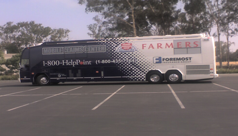 John Portaro - <pre>Farmers® Mobile Claims Center helps customers with their insurance claims.</pre>