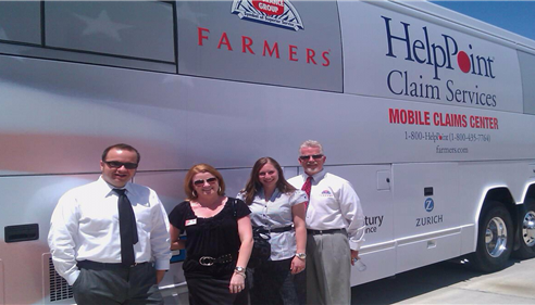 Jami Siegfried - <pre>Farmers® HelpPoint Bus~ Amazing!</pre>