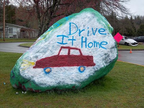 Jodi Strohm - <pre>Driving It Home event at Sultan HS with Jodi Strohm Insurance Agency</pre>