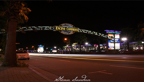 Jason Vallejos - <pre>Encino California at night</pre>