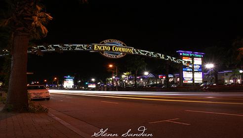 Jason Vallejos - <pre>Encino California at night</pre>