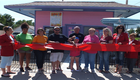 Joyce Volk - <pre>Little B&rsquo;s ribbon cutting and grand opening.</pre>