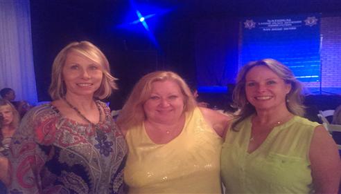 Kristine Avram - <pre>Kris Avram, Susan Bauer and Debbie Pierce at an NLPOA event.</pre>