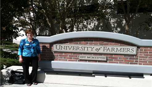 Karen Caldwell - <pre>Karen Caldwell at Farmers University.</pre>