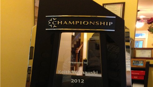 Keith Wainauski - <pre>Our Agency was honored to be selected as a Championship agent for 2013.</pre>