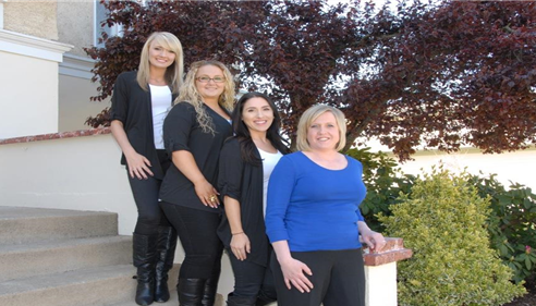 Kerry Whitlatch - <pre>My Team! Karlie, Amy, Amber and Kerry(Myself).</pre>