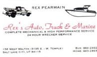 Rex's Auto, Truck & Marine