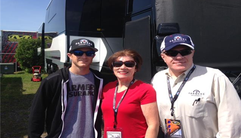 La Mont Hess - <pre>Meet and greet with Kasey Kahne at Pocono Raceway 7/7/2015</pre>
