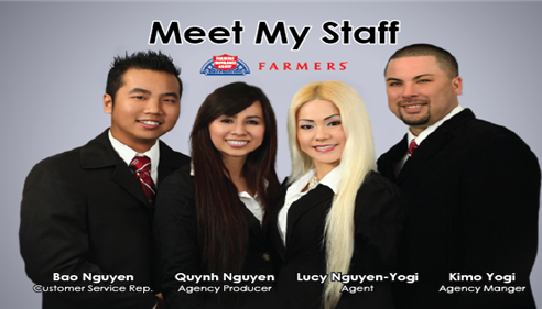 Lucy Nguyen-Yogi - <pre>Meet my Staff</pre>