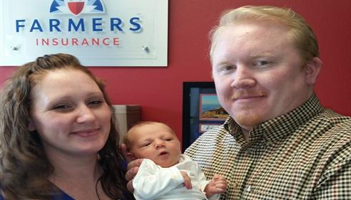 Larry Novak - <pre>Michael, Amanda, and Henry Novak - meet Larry&rsquo;s newest grandbaby! 2015</pre>