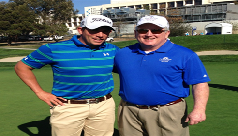 Larry Novak - <pre>Scott Stallings & Larry partnered,Farmers® Insurance Open - Stallings won! 2014</pre>
