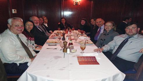 Larry Novak - <pre>Novak Agency & District Office Members celebrating President&rsquo;s Council, 2015.</pre>