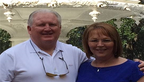 Larry Novak - <pre>Larry and Sally Novak&rsquo;s 40th in Savannah Georgia, at Forsyth Park, 2015.</pre>