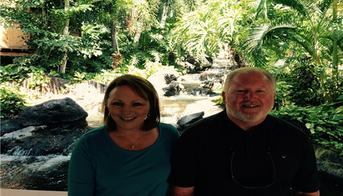 Larry Novak - <pre>Larry and Sally Novak, President&rsquo;s Council in Hawaii, 2015.</pre>