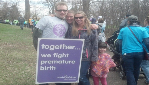 Lyle Radloff - <pre>March of Dimes, March for babies 2014!</pre>