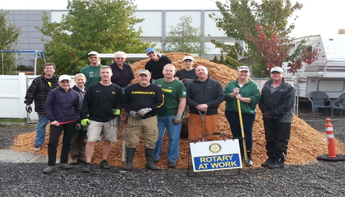 MICHAEL BARCLAY - <pre>The Rotary Foundation and Delta Rotary Work Party September 2014</pre>