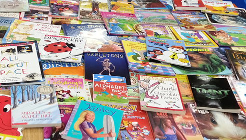 Michael Blau - <pre>Blau Agency donations purchased these books for Center Elementary students.</pre>