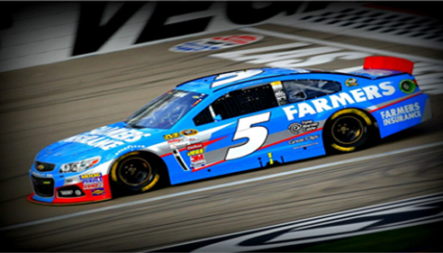 Michael Blau - <pre>Farmers® NASCAR Team in action!</pre>