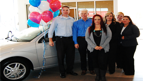 Mark Buckley - <pre>Our 2nd Annual Car Giveaway Event &quot;Driving for Change&quot;</pre>