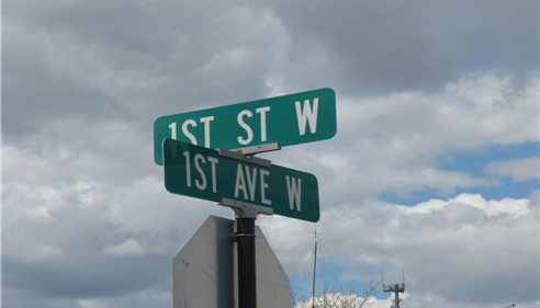 Michael Hebert - <pre>Find us at the corner of First Ave West and First Street West in Kalispell.</pre>