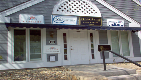 Michael Hopkins - <pre>Front of office building in Seaport in Liberty, MO</pre>