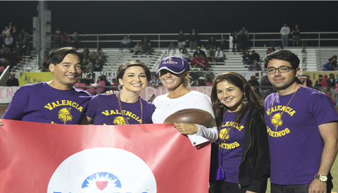 Maureen Martinez - <pre>Halftime at Vikings Football Game!</pre>