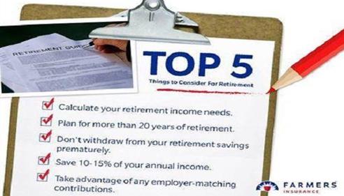 Matt North - <pre>Retirement Tips</pre>