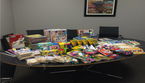 Matt North - <pre>We helped deliver needed items to Operation Breakthrough, a great organization!</pre>