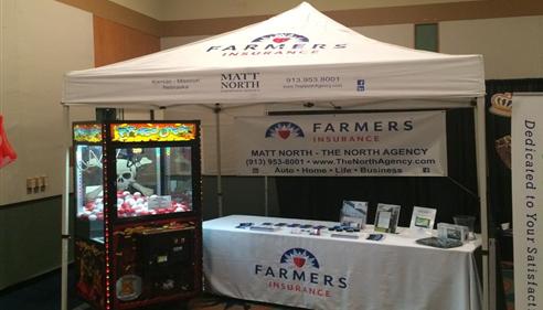 Matt North - <pre>Matt North Insurance Agency, Inc&rsquo;s HLA trade show booth</pre>