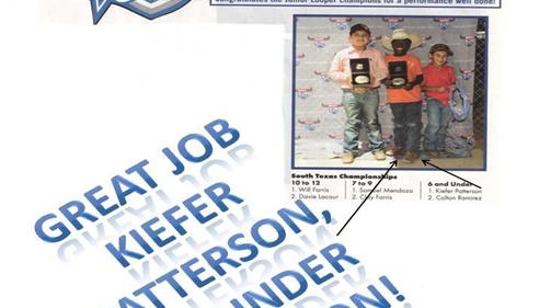 Matthew Patterson - <pre>Celebrating success - awesome job son!</pre>