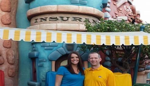 Matthew Smith - <pre>Lauren and Matt at Disneyland in Anaheim, CA for Toppers Club 2014.</pre>