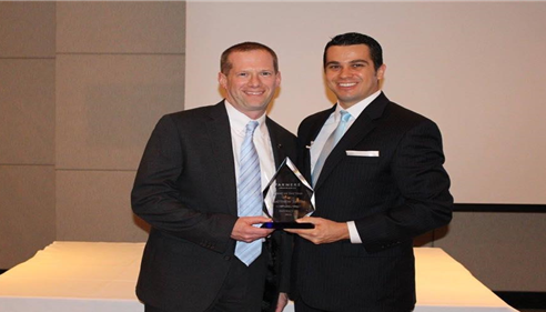 Matthew Smith - <pre>Matt receiving the 2014 Agent of the Year award for District 07!</pre>