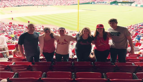 Matthew Smith - <pre>Our office crew enjoying a Cardinals game in St. Louis</pre>