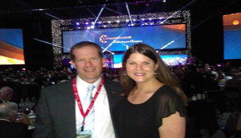 Matthew Smith - <pre>Matt and Nancy at Championship 2014 in San Antonio, TX!</pre>