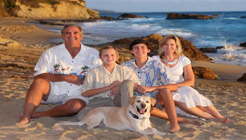 Martin Stuka - <pre>Stuka Family photo at the beach 2013</pre>
