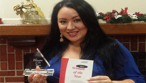 Melissa Watanabe - <pre>I was awarded the 2014 Woman of the Year Award on behalf of the Huntington Beach chapter of the American Business Women's Association. I have been a proud member of ABWA since March 2013.  I currently volunteer on the Scholarship & Fundraising committee and I am the VP.</pre>