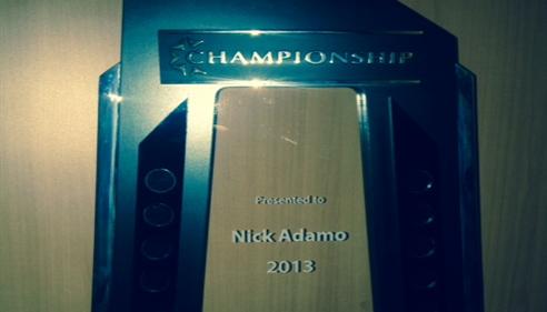 Nick Adamo - <pre>2014 Championship!</pre>