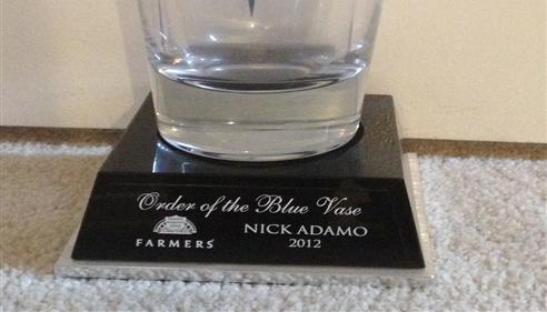 Nick Adamo - <pre>Blue Vase</pre>