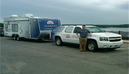 Patrick Wertzberger - <pre>One of Farmers® Claims Response Vehicles.</pre>