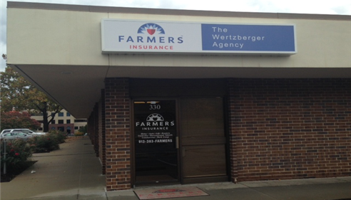 Patrick Wertzberger - <pre>The front of our office in Overland Park, KS. Come by and see us!</pre>