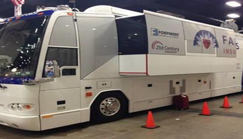 Patrick Wertzberger - <pre>Farmers® Catastrophe Response Vehicle</pre>